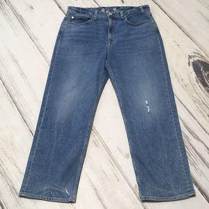 Rag & Bone Jeans Maya High Rise Ankle Straight 32